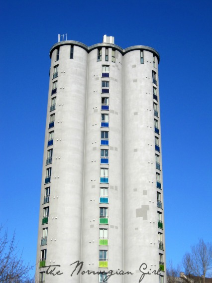 kornsilo, studentbolig, grain silo turned student housing